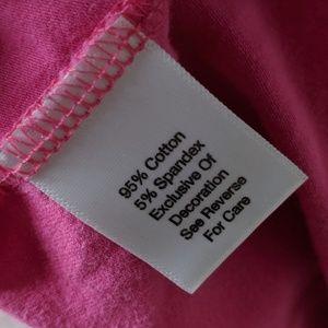 Vera Bradley Tops - Vera Bradley Preppy Scoop Neck Tank Top Pink